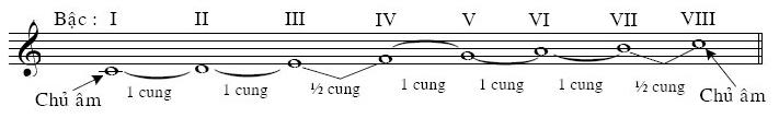 Cấu tạo của âm giai trưởng là gì và các hợp âm trong âm giai trưởng